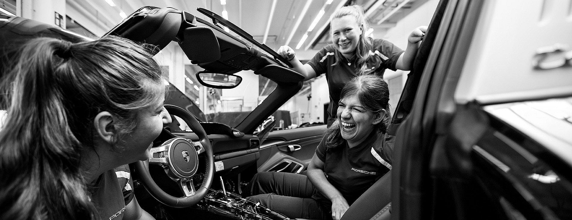 Porsche Newsroom Presse 30 Auszubildende 3