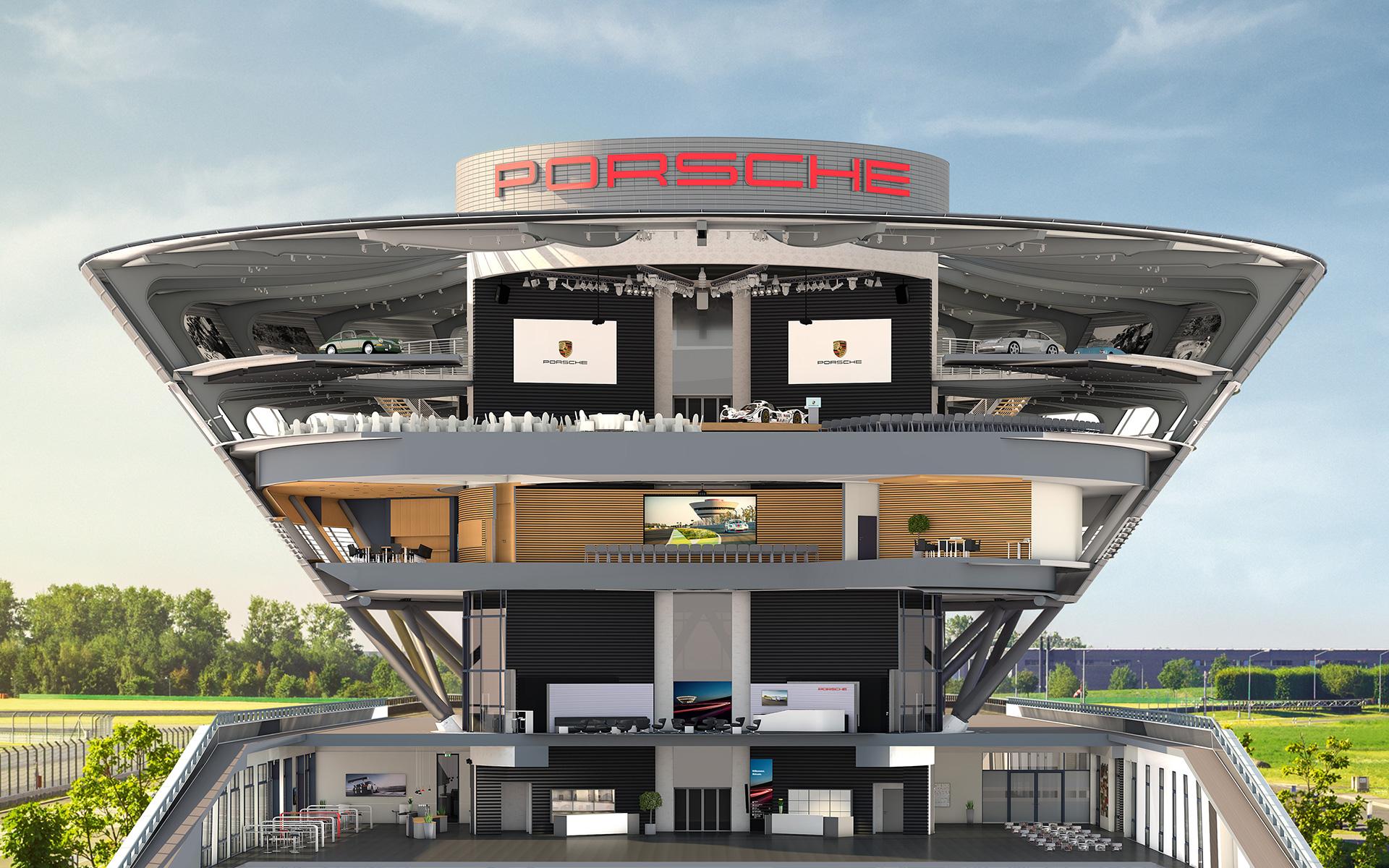 Customer Centre Porsche Leipzig Gmbh