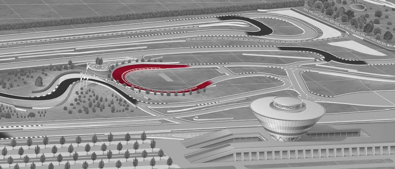Porsche on-road circuit - Porsche Leipzig GmbH