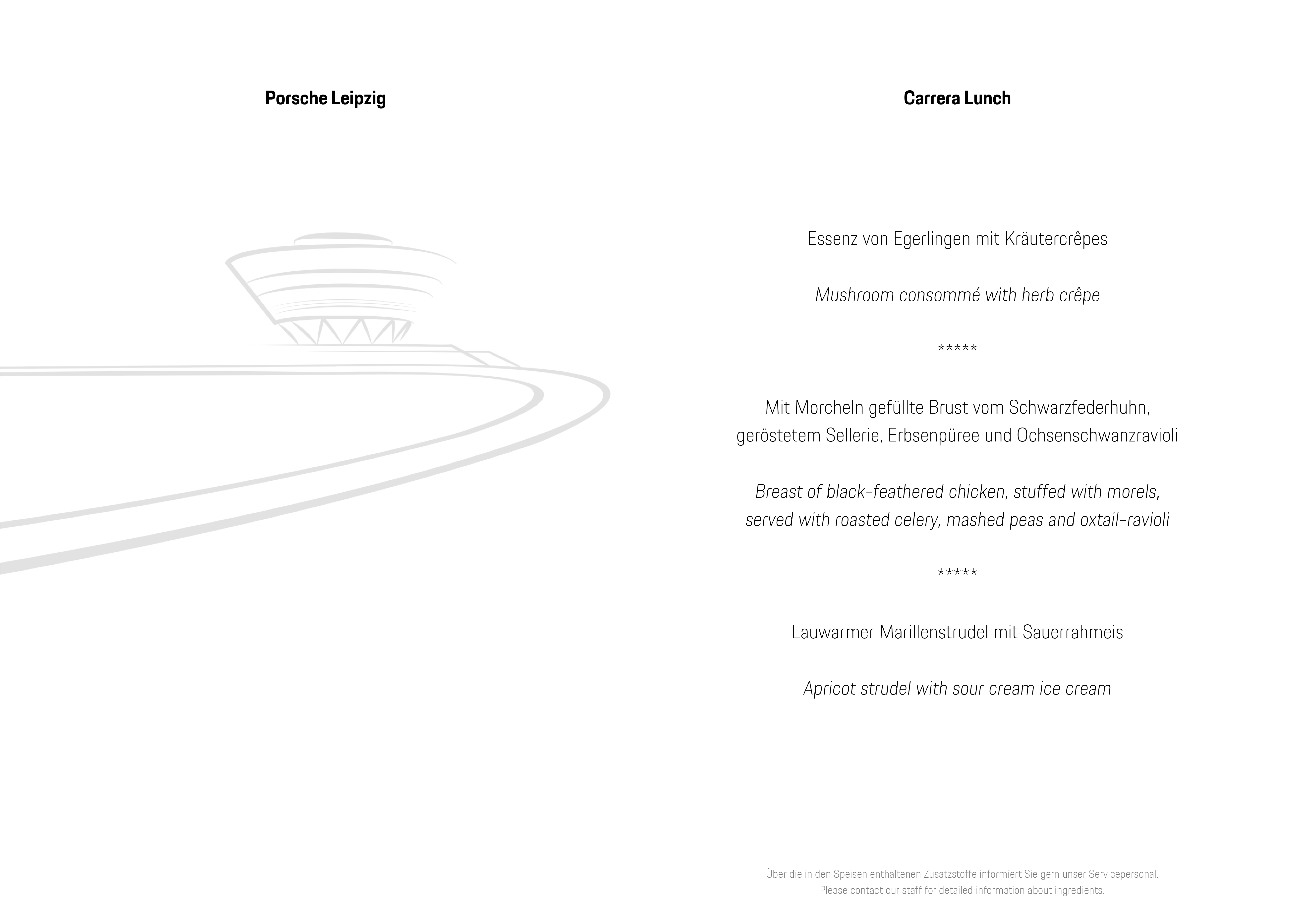 Carrera Lunch - Porsche Leipzig GmbH